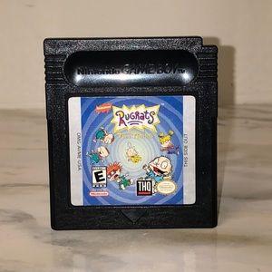 RugRats Game Boy Game